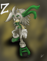 :GIFT: Z The Hedgehog by FreedomReigns97