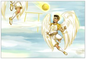 Heavenly soccer. by Neo-N