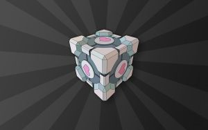 Companion Cube New by CoffeeDaze