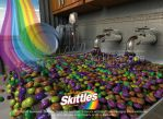 Skittles : Taste the Rainbow by SerkDesigns