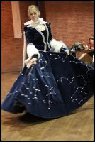 Celestial Constellation Dress by Mink-the-Satyr