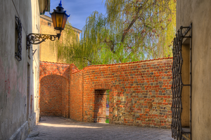 Street Behind the Wall by marrciano