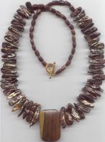 Fall Autumn Necklace by electramyers