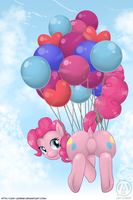 Pinkie Pie That's Why by Lew-Legend
