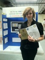 County Science Fair Project and Awards. by KilljoyShellyShooter