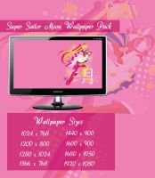 Super Sailor Moon Wallpaper Pack by Sigma-Astra