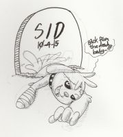 Inktober day 4-Sid by Inkblot-Rabbit