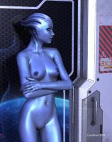 Liara (out of uniform 2) by cyanthree