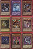 Yugioh cards collection by galangthus