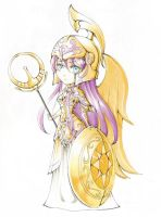 SD Athena's God Cloth by SweetPoison-Bunny