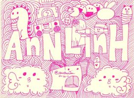 doodle:annlinh by andreakris