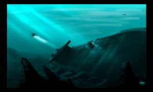 .:Underwater wreck 003:. by David-Holland
