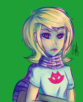 Roxy by crabsandunicorns