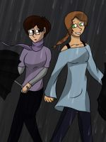 The Rain Never Bothered Me by ElyssaJM