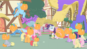 TG r2: Pumpkins in EQ: ''Pumpkin Day'' by Scintillant-H