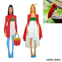 Bird of Paradise Fashion: King Bird of Paradise by nabilaclydea