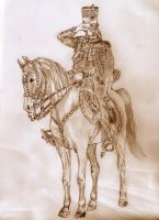 Colonel of the 7th French Hussars by mr-macd