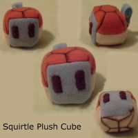 Squirtle Plush Cube by SpiritBlocks
