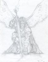 Archangel Michael by evil-ash-666
