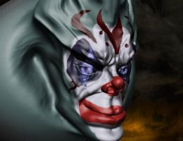 clown guy thing by Alevice