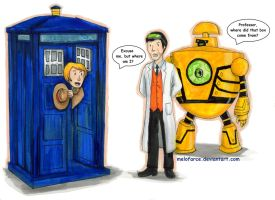 Doctor Who and Ben 10 Crossover (Request) by melofarce