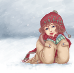 Winter Smile by DiiaR
