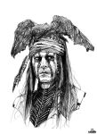 The Lone Ranger : Johnny Depp by ToToDost