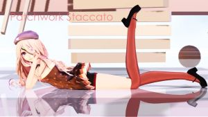 MMD Patchwork Staccato Motion DL by ZKArti