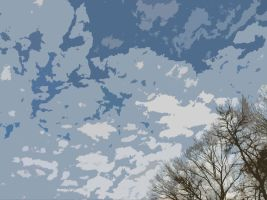 clouds (photoshoped) by Cassidy-Slingby