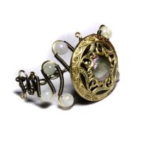 Victorian Antique Button Cuff by CatherinetteRings