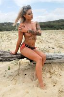 Justine - implied topless 1 by wildplaces