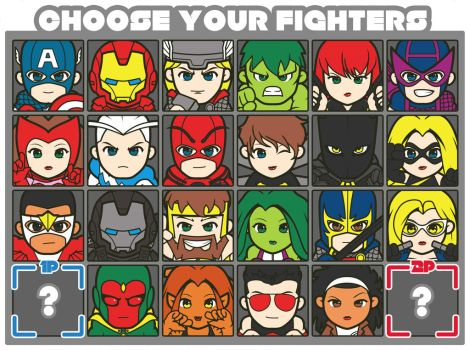 Avengers Fighters by Hiroki8