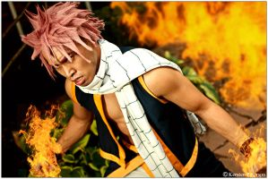 Fairy Tail: Controlling Fire by CosplayerWithCamera
