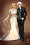 Kai and J's wedding by Jeannette11