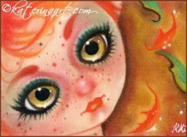 Touch of Autumn Aceo by Katerina-Art