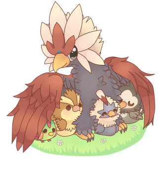 birbs by potatosaladass