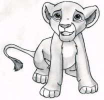 The Lion King - Kiara (cub) by 09Dianime