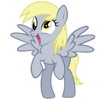 Derpy Vector ~ The muffins are calling! by 2bitmarksman