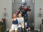 Us with Optimus by Topkicker26