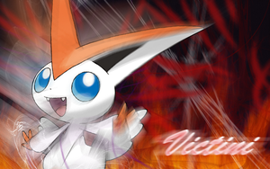 Victini Wallpaper by Celestis-Mew