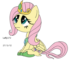 Princess Fluttershy by Laffy372