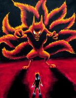 Confronting Kurama by Temporalvisions