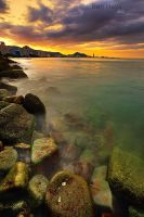 Penang sunset by sifu