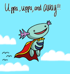 Uppa, Uppa, and AWAY by qwerty1198