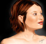 Emily Browning by AdahliDA