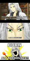 Sephiroth's Logic by darthfilart