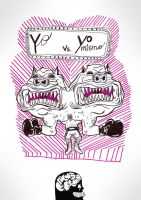 yo vs yo mismo by MasBrain