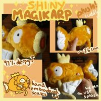 Shiny Magikarp plush! by scilk