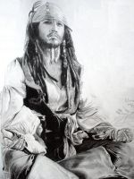 Jack Sparrow by pikkuclara