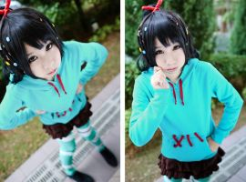 Wreak it Ralph: Vanellope von Schweetz by xmiriee